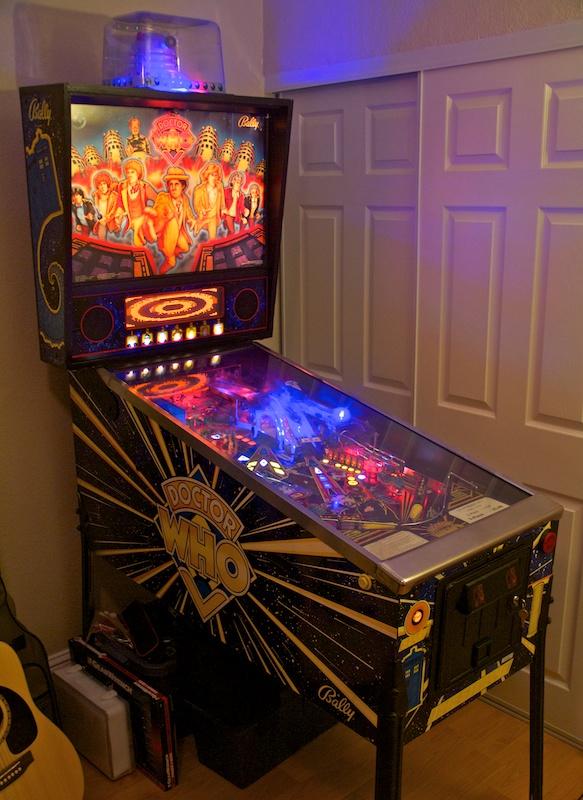 building a pinball machine