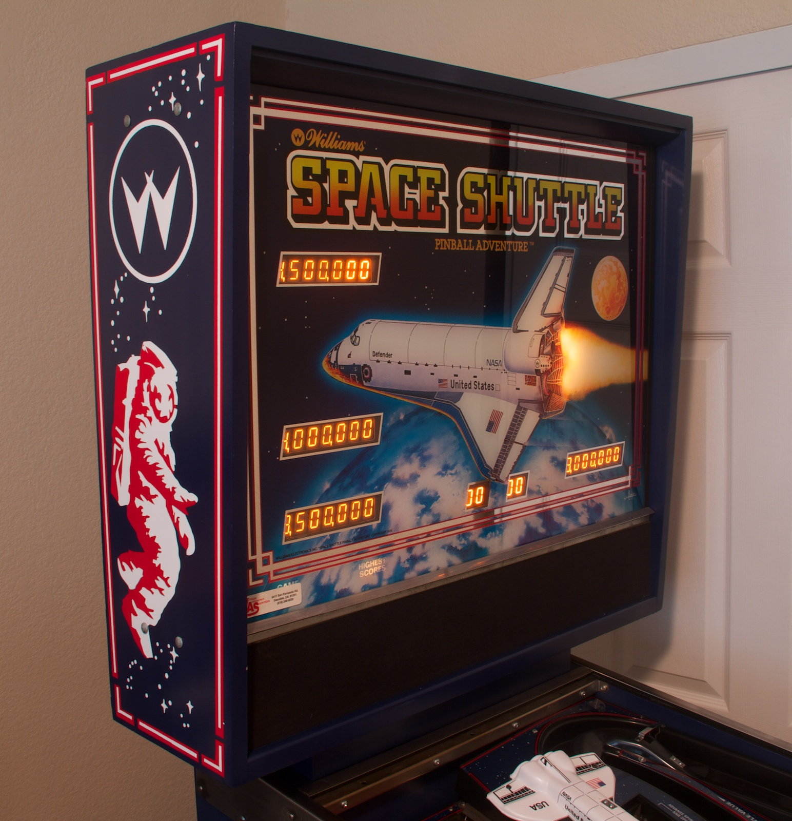 Space Shuttle | Alpha Bravo Pinball