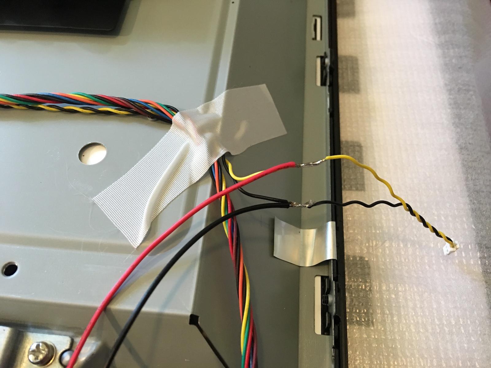 Alpha Bravo Pinball Maintenance Repair Restoration Wiring Jamma Power Supply Wires Added Kraylix Powerbuttons 002